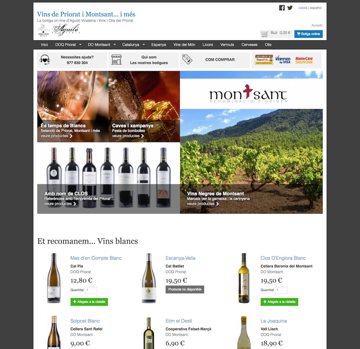 Vins Priorat i Montsant