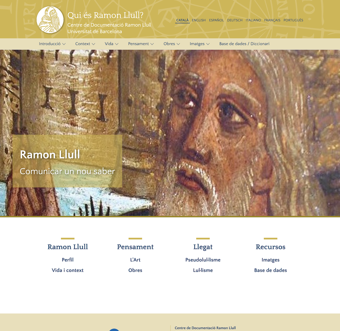 Qui és Ramon Llull?